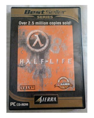 HALF LIFE: VIDEOJUEGO PC CD-ROM