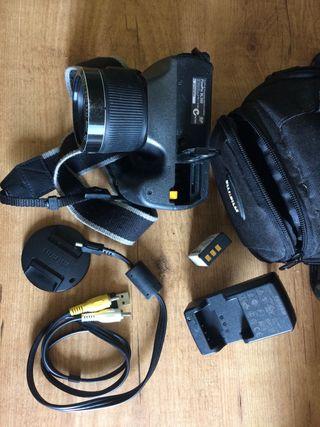 Cámara compacta +funda+cable+cargador fujifilm
