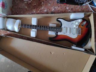 guitarra tipo stratocaster hamer slammer negociabl