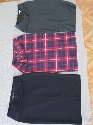 las 3 faldas tubo por 17€