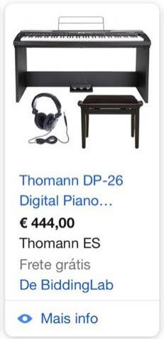 Piano digital Thomann DP-26