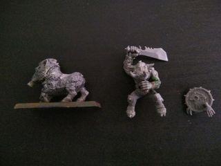 Warhammer Orco montado en jabalí