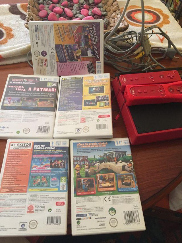 Consola mini Wii juegos