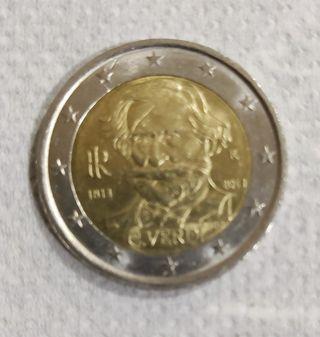 Moneda de 2€ G. Verdi 2013