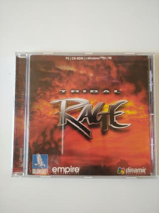 PC CD-ROM TRIBAL RAGE