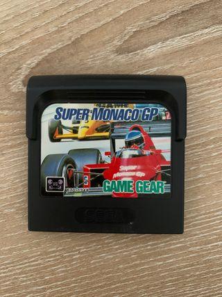 Vídeojuego Game Gear Súper Mónaco GP