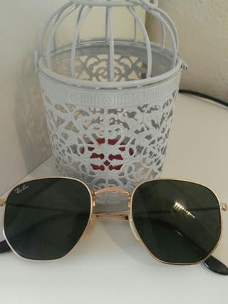 Gafas Ray-Ban modelo hexagonal flat lenses