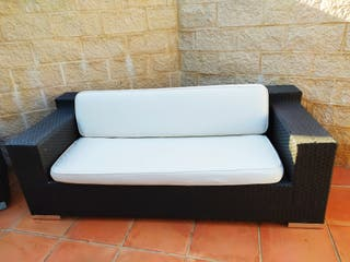 Conjunto de sofá para jardín robusto