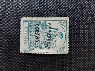 16 sellos República española 1.20pesetas