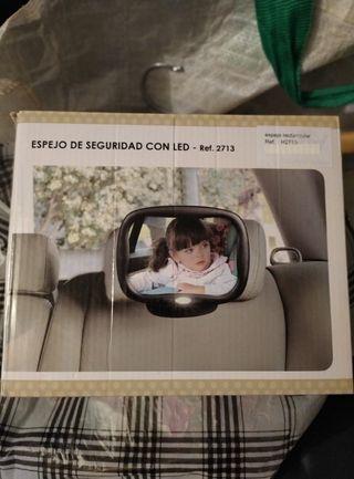 espejo retrovisor coches bebé