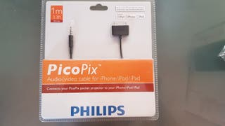 Philips PPA1160 Cable Audio/Video para Apple
