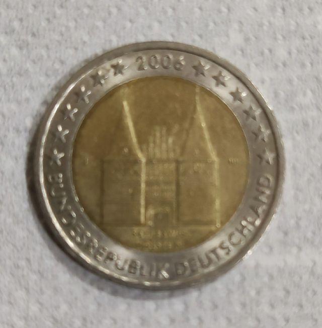 Moneda 2 Euros Alemania 2006 J