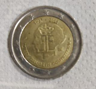 Moneda de 2€ Bélgica 2012 Reina
