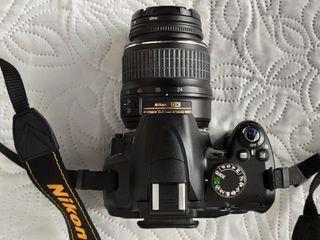 Nikon D3000 + Mochila Nikon (con factura) cámara