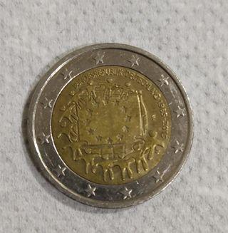 Moneda 2€ Alemania Bandera 2015