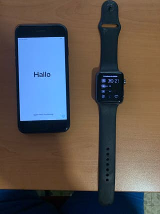 IPhone 7 32 mas iwatch 42
