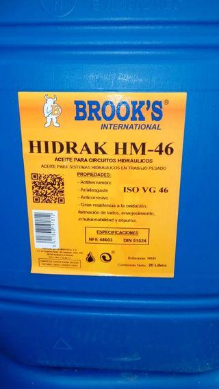 ACEITE HIDRÁULICO HM46/HM68