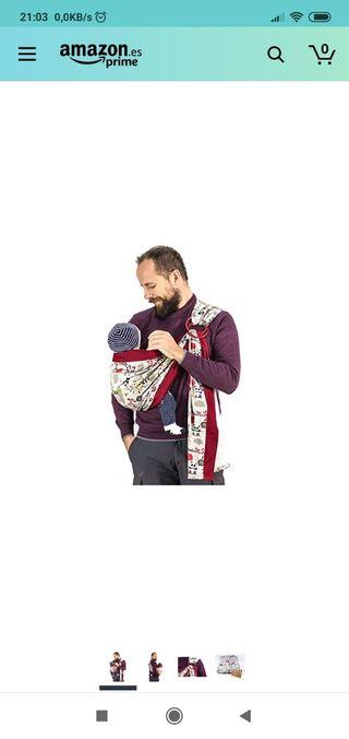 Bandolera/tela porta-bebés