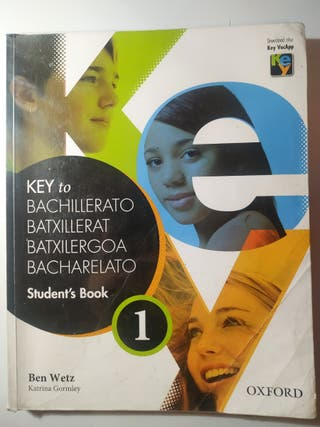 Libro Inglés 1 bachillerato Oxford