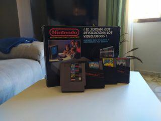 Nintendo NES Original + Varios Cartuchos