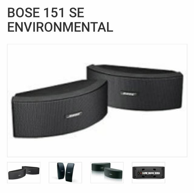 Altavoces Bose x6 pack Modelo 151 SE Environmental