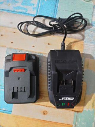 batería y cargador