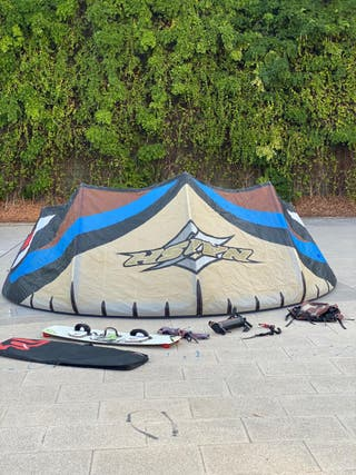 kite surf. Equipo completo.