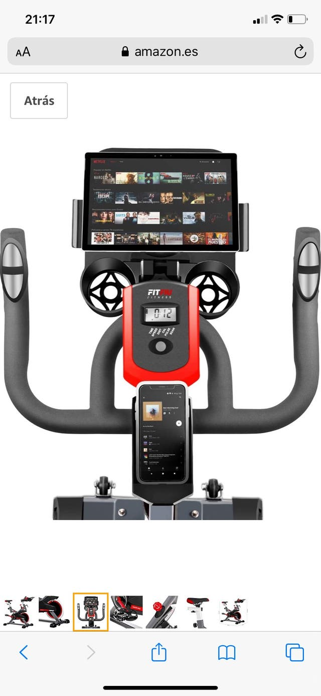Fitfiu Fitness - Bicicleta spinning indoor