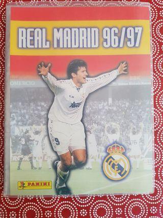 Real Madrid 96/97 Álbum de cartas Panini COMPLETO