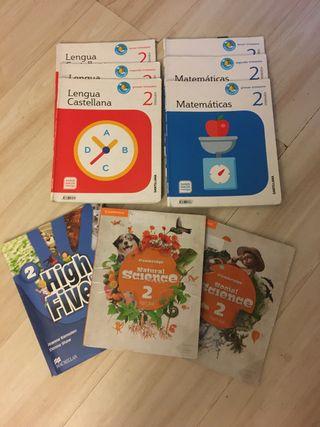Lote libros 2 primaria