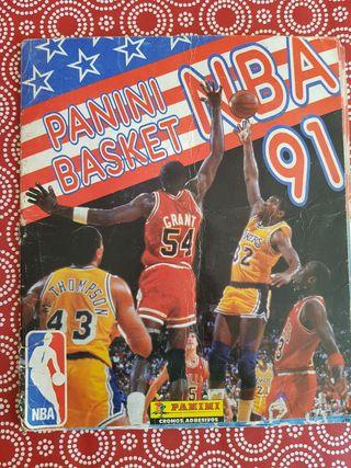 NBA 91 Album Cromos Panini