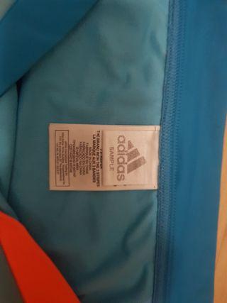 Bañador Adidas azul y naranja