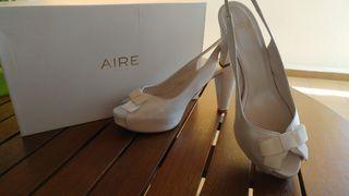 zapatos novia AIRE BARCELONA