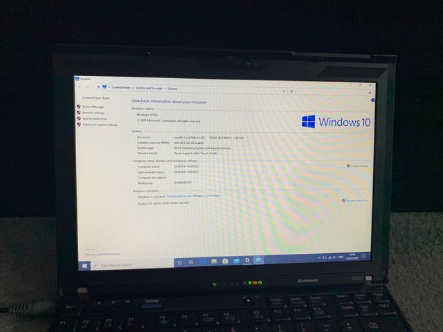 Lenovo X201 ThinkPad - Windows 10