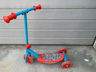 Patinete de 3 ruedas, Patrulla Canina