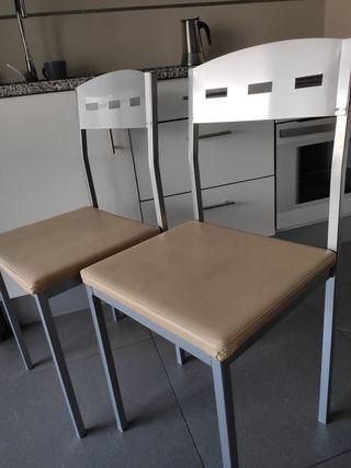sillas aluminio para cocina