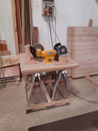 Taller de carpinteria completo
