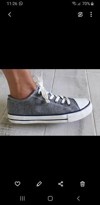 Zapatillas tipo Converse nuevas talla 39
