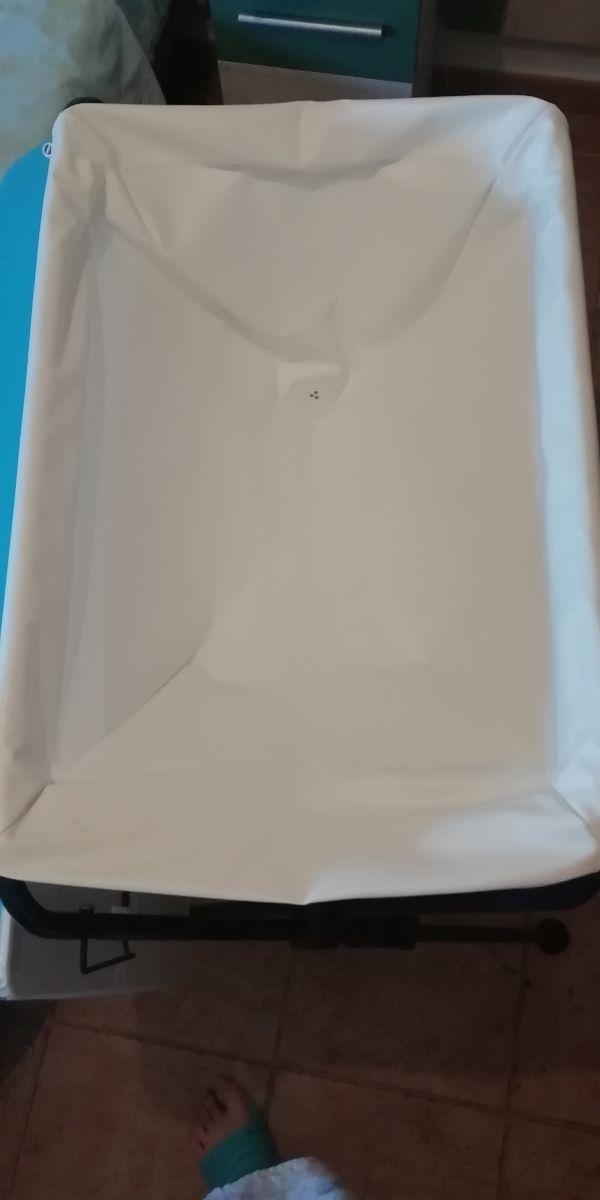 cambiador y bañera plegable de Jané