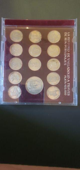 Arras de plata de ley de la Historia de valladolid