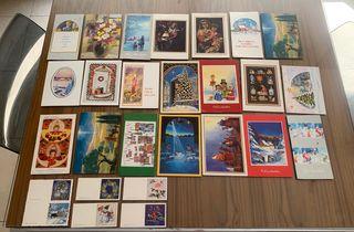 postales navideñas colección
