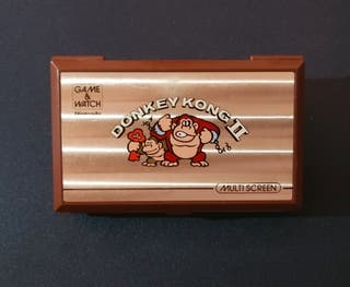 Donkey Kong II. Game and Watch. Nintendo. 1983