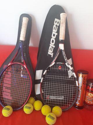 2 buenas raquetas tenis