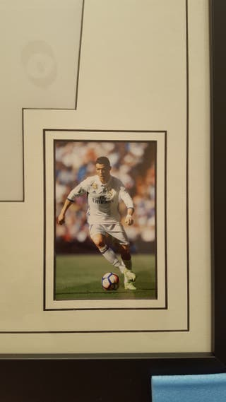Real Madrid Cristiano Ronaldo Signed Shirt