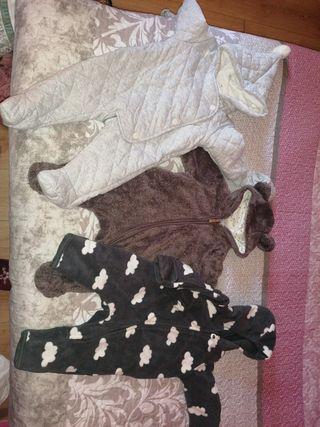 LOTE monos abrigo recién nacido