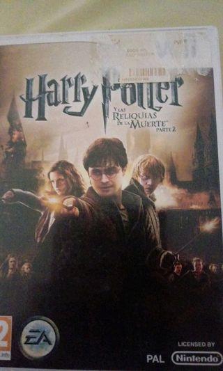 Harry Potter las reliquias de la muerte parte2 Wii