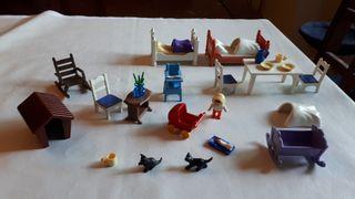 Playmobil familia o casa de muñecas