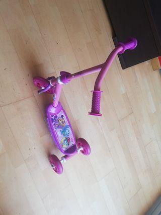 patinete niña 2+