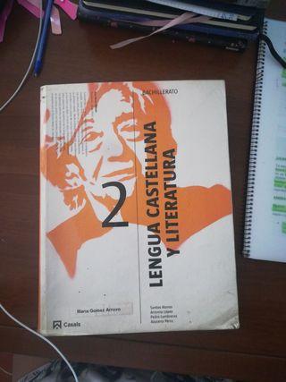 Lengua Castellana y literatura. 2°Bach