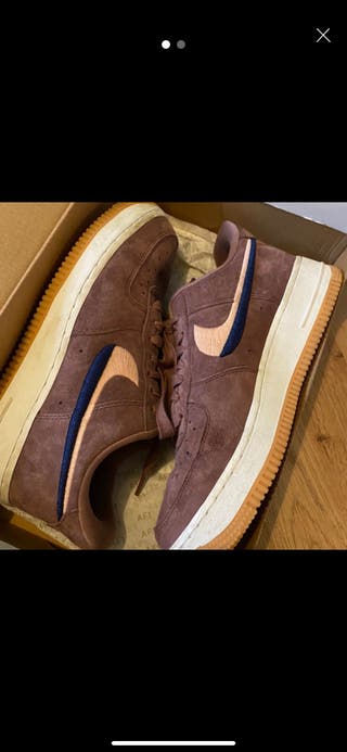 Suede Air Force 1